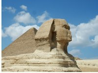 Sphinx in Gizeh  Egypt