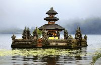 Water Temple  Bratan Lake  Indonesia