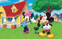 Minnie and Mickey Mouse  BBQ