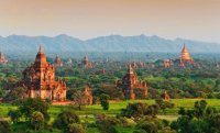 More than 2000 Temples in Bagan  Myanmar