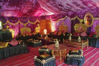 Purple Palace Party Tent