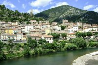 French village in Aude
