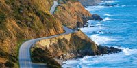 Scenic Drive Along Pacific Coast Highway
