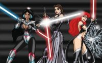 Star Wars Ariel Belle Jasmine
