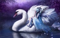 Fairy tale the Swan