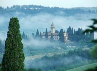 Misty Tuscan morning