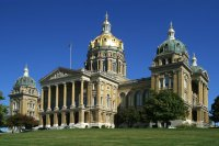 State Capitol Building Iowa  USA
