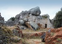 Ruins at Great Zimbabwe