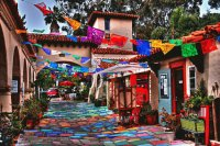 Colorful Plaza
