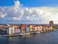 Willemstad from above  Curacao