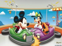 Mickey and Goofy