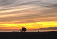 Venice Beach Sunset CA