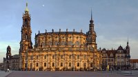 Cathedral in Dresden  Germany