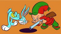 Bugs Bunny and Elmer Fudd