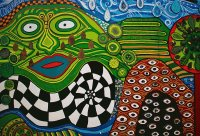 Friedrich Hundertwasser art in New Zealand