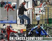 Kimi and fences