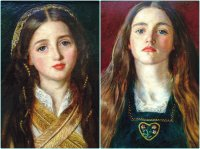 Millais portraits Getty Centre LA