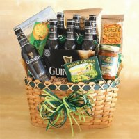 St Patricks Gift Basket-California Delicious