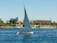 Dhow on the Nile