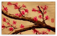 Cherry Blossom painting  China