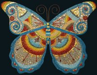 Butterfly Mosaic by Irina Charny