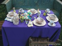 Easter Tea Table