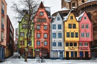 Colored German Houses