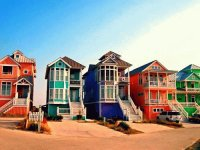 Beach Houses North Carolina  USA