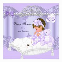 Little Princess Baby Shower Invitation