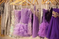 Shopping for the Purple Prom Dress
