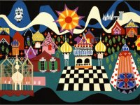 Village by Mary Blair
