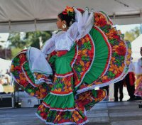 Mexican dance performance
