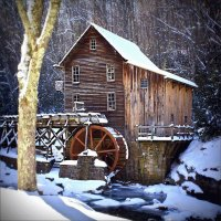 Grist Mill West Virginia  USA