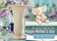 Lennox Mothers Day Vase