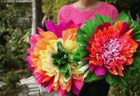 Mexican Crepe paper Flowers for May 05th