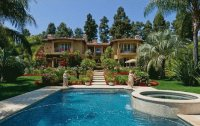 Dr Phil 's Beverly Hills House  Los Angeles