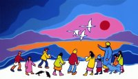 Northern education by Ted Harrison