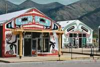 Shop decoration Dawson City  Yukon