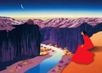 Moon River by R.C. Gorman  Navajo artist