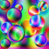 Psychedelic Balls by M Braun