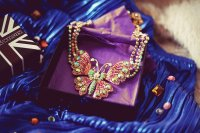Opulent Butterfly Necklace