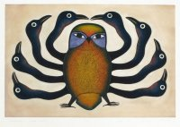 Inuit art by Kenojuak Ashevak