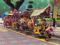 Colorful Bike transportation  Malaysia