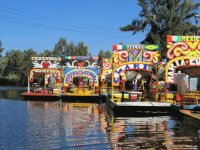 Floating Gardens  Xochimilco  Mexico