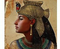 Cleopatra Queen of the Nile,  last Farao of Egypt