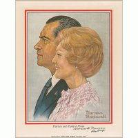President Nixon and The First Lady