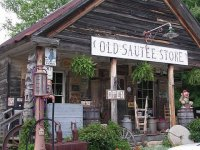 Old country store in Sautee  Georgia   USA