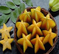 Carambola known as Starfruit