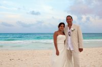 our wedding at tulum