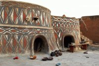 Traditional Houses of the Sirigu  Ghana